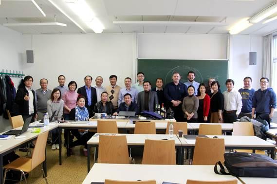 Khóa tập huấn tại Đại học Công nghệ Dresden, Đức